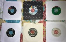 Elton John Lot Of 6 Rock Pop Oldies 45 Rpm Records Great Songs! Free Shipping!