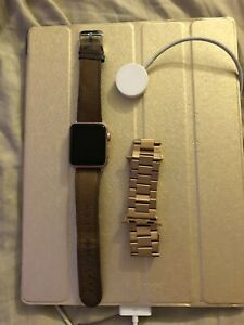 Apple Watch Series 1 1st Generation 38mm Rose Gold. Turns on but wont boot up