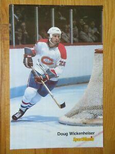 SportMania DOUG WICKENHEISER No. 26 MONTREAL CANADIENS Pin-Up Poster