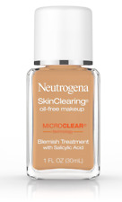 (1) Neutrogena Skin Clearing Oil Free Makeup 85 Honey Expired 03/18