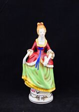 Vintage Occupied Japan Moriyama Figurine Victorian Lady 7 1/2""