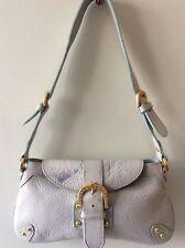 DOONEY & BOURKE real leather small pale blue underarm handbag