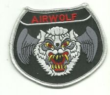 Airwolf Helicopter Pilot PATCH