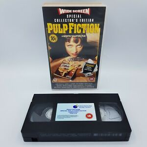Pulp Fiction Special Collectors Edition Widescreen VHS Video Tape Vintage 1995