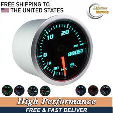 "2"" 52mm Universal Autos Turbo Boost Gauge LED Digital PSI Vacuum Pressure Meter"
