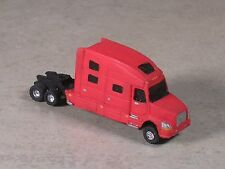 N Scale 2010 Red Volve Semi-Truck, Semi-Tractor with extra long sleeper.