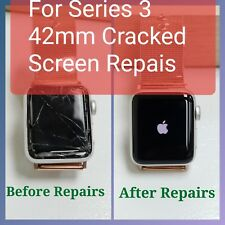 US Apple watch series 3 42mm GPS & Cellular Cracked Screen Repairs. Fix iWatch.