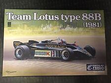 Ebbro 20010 Team Lotus Type 88B 1981 1/20 scale kit