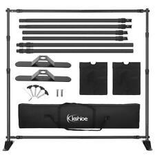 Photo Studio Background Frame 10'x8' Folding Tripod Stand Backdrops Frames Bag