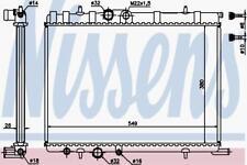 Motor de refrigeración por agua radiador Radiador Nissens Nis 63502 A