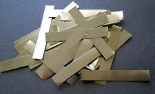 20  Pure Nickel solder tabs for LiPo, NiMh & NiCd battery packs -  1/4 in x 2 in