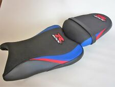 S64  Suzuki GSXR 600 750 K8,K9,K10 seat cover upgrade Blue/Red/Black-SET
