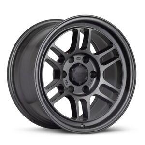 "Enkei RPT1 Wheel (17x9"", 0mm, 6x139.7, Each) Gunmetal Rim for 6 x 5.5"" Truck/SUV"
