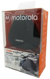 Motorola Sonic Boost 230 Rugged IPX7 Waterproof Wireless Bluetooth Speaker New