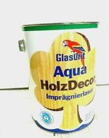 6,76 EUR/L| 2,5L | GLASURIT AQUA HOLZ DECOR | LASUR| FARBLOS