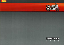 Ducati prospectus DNL 1997 brochure 916 racing sps 900 ss 748 s 944 st 2 senna
