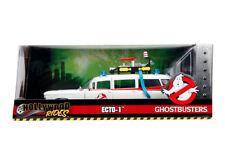 1:24 Ghostbusters Ecto-1 Cadillac Ambulance Jada Toys Die-cast Car NIB