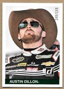 2017 Donruss Racing Austin Dillon 149/199 NASCAR