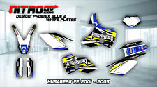 HUSABERG FE 400 450 501 550 650 2001-2005 Graphics Kit Decals Design Stickers MX