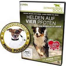 2 DVD: Hunde - Helden auf vier Pfoten - Extraordinary Dogs - Die komplette Serie