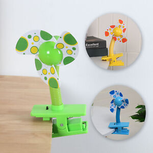 Portable Safety Clip-on USB Mini Fans For Buggy Baby Pram Stroller Cots