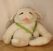 "Vintage Baby Lamb Chop Angel Hand Puppet Shari Lewis 16"" 1993"