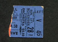 Original 1965 Dave Clark Five concert ticket stub Newark NJ I Like It Like That