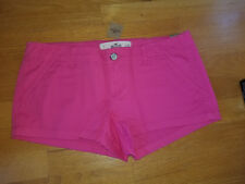 NWT Hollister Arrow Point  Low Rise Short -Shorts Size 7  Pink