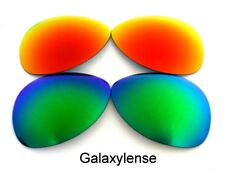Galaxy Replacement Lenses For Oakley Crosshair New 2012 Green&Red Polarized