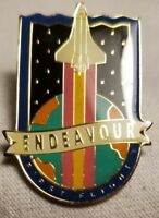 Space Shuttle Endeavour First Flight Pin STS-49 Lapel May 7-16 1992 NASA