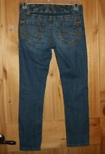 Aeropostale  JEANS   size 5 / 6   Stretchy  FANCY Pockets  & Stitching   LOT7161