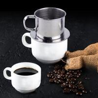 Kaffeefilter Edelstahl Vietnamesisch Kaffeetasse Kaffeebereiter Filter tp