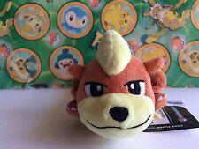 Pokemon Center Plush Laying Growlithe Kuttari Kuta bean bag Stuffed doll figure