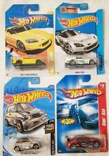 Lot of 4 HOT WHEELS HONDA CARS DIECAST