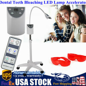 Dental Teeth Bleaching Cold LED Lamp Mobile Tooth Whitening Machine Accelerator