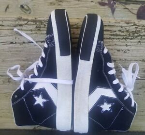 CONVERSE STEAL THE SHOW PRO HIGH-TOP RETRO SHOES BLACK SIZE 6 YOUTH