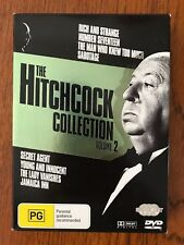 The Hitchcock Collection: Volume 2 DVD Region 4 Disc VGC