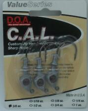 DOA 87422 Cal Jighead Natural 3/8 Oz 20996
