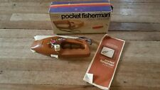 1972 Popeil Pocket Fisherman F3000 Spin Casting Outfit  Vintage Very Clean.