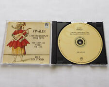 Rolf LISLEVAND / VIVALDI Complete works for lute FRENCH CD ASTREE (1999) NMint