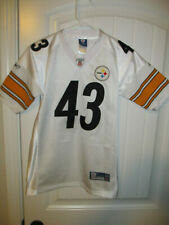 Troy Palomalu - Pittsburgh Steelers sewn jersey - Reebok youth Medium