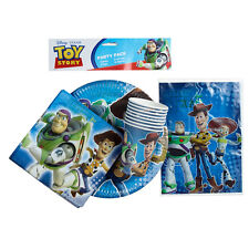TOY STORY 3 PARTY PACK 40PCE BIRTHDAY PARTY SUPPLIES PLATE CUPS LOOT BAG NAPKINS