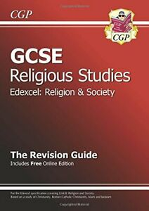 GCSE Religious Studies Edexcel Religion and Society Re... by CGP Books Paperback