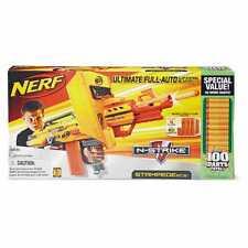 Brand New NERF N-Strike STAMPEDE ECS Dart BLASTER Rare 100 Darts LARGEST GUN