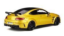 1:18 MERCEDES-BENZ C CLASS 63 AMG COUPE YELLOW GT SPIRIT GT235