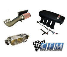 CFM Twin 67mm Throttle Body Ford Racing Cobra Jet Intake JLT Cold Air Induction