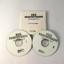 Kris Kristofferson: The Pilgrim; Ch 77 - 2 Live CDs - Limited Edition 130/250