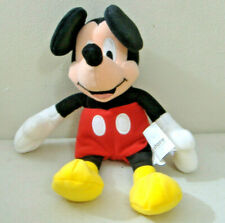 MICKEY MOUSE MINI BEAN BAG TOY~8 INCH~DISNEY STORE