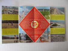 Vtg MYRTLE BEACH SOUTH CAROLINA SC Brochure Pavilion Amusement Park Grand Strand