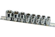 8 douilles embouts de vissage 3/8 E-Torx E8,E10,E11,E12,E14,E16,E18,E20